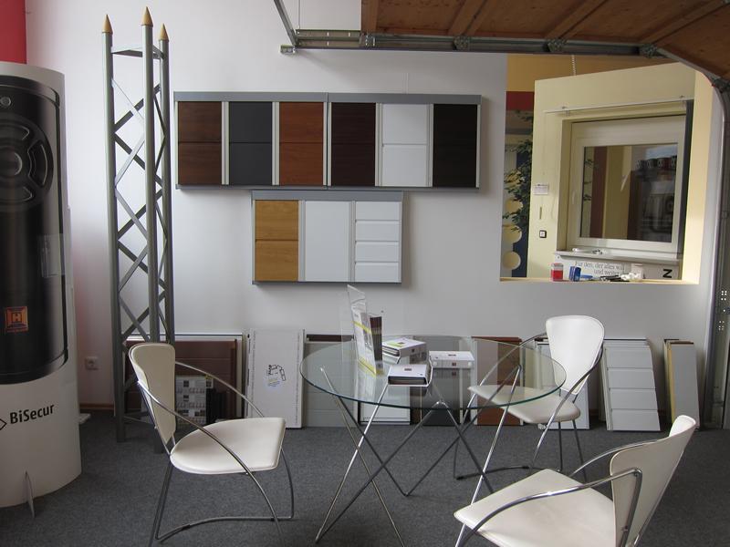 Ausstellungsraum - verschiedene Muster